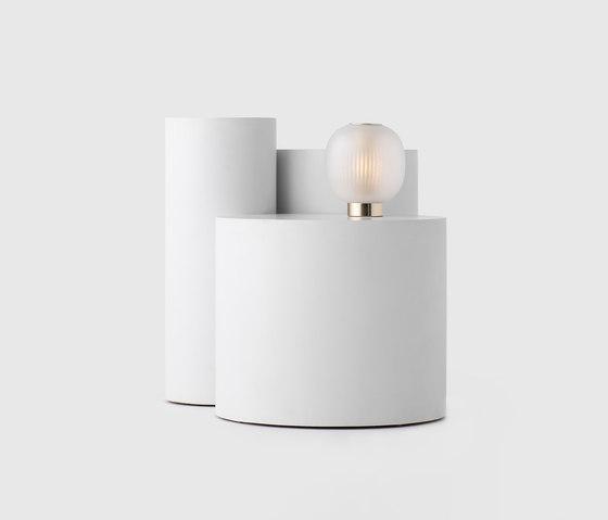 Bloom Table Light White de Resident | Luminaires de table