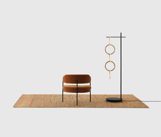 Circus Floor Light by Resident | Free-standing lights
