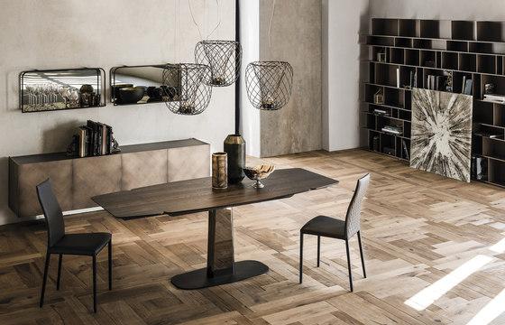 Linus Wood Drive di Cattelan Italia | Tavoli pranzo