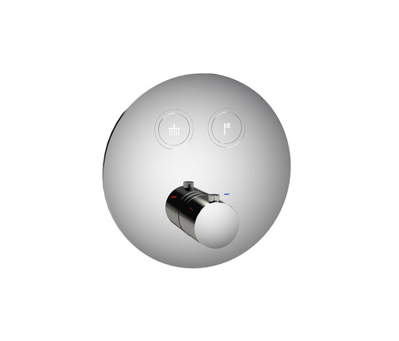 Toko | Round 2 Outlet Thermostatic Shower Mixer di BAGNODESIGN | Rubinetteria doccia