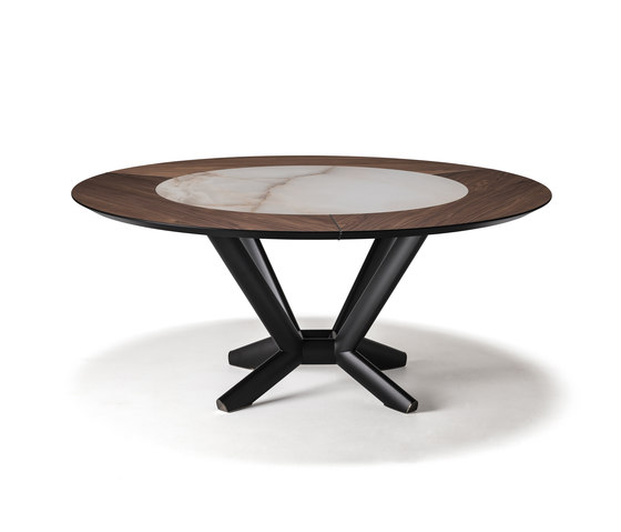 Planer Round Ker-Wood by Cattelan Italia | Dining tables