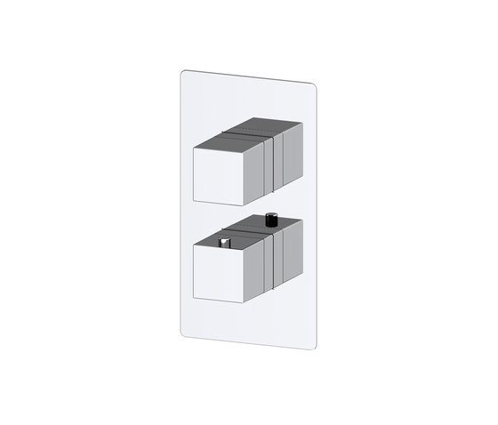 Zephyr | Trim Part For Thermostatic Shower Mixer 1 Outlet by BAGNODESIGN | Shower controls