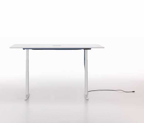 Tyde single tables de Vitra | Tables collectivités