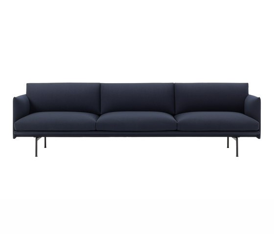 Outline Sofa | 3.5 Seater by Muuto | Sofas