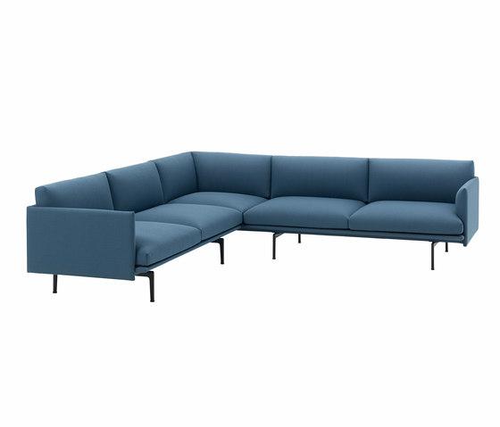 Outline Corner Sofa di Muuto | Divani