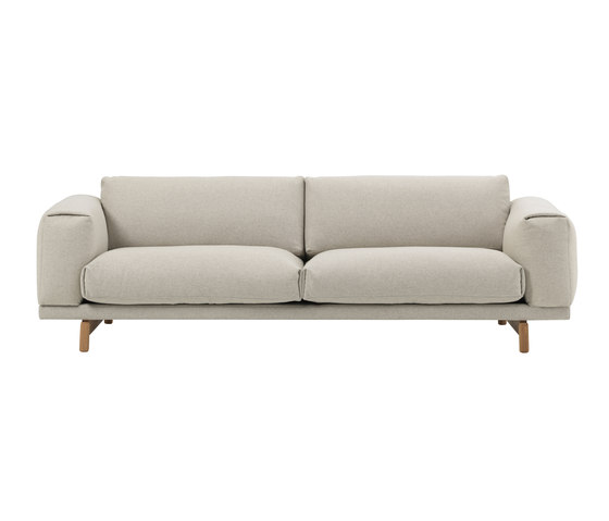 Rest | 3-Seater by Muuto | Sofas