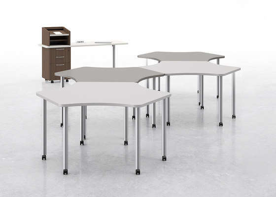 Manuever Collaborative Tables by National Office Furniture | Contract tables