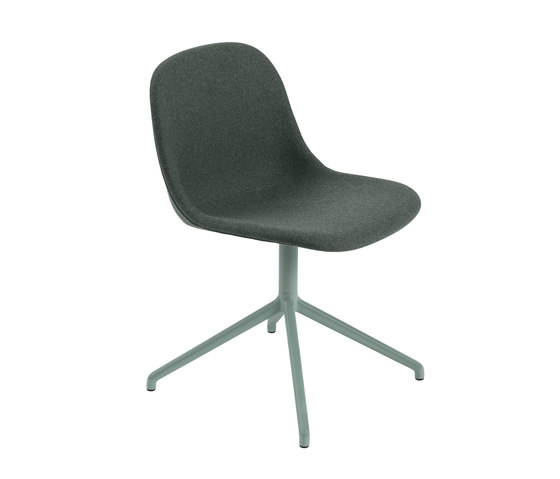 Fiber Side Chair | Swivel Base | Textile de Muuto | Sillas