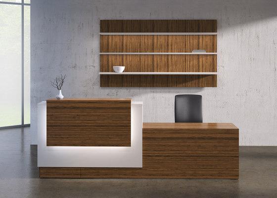 Tessera Desk de National Office Furniture | Mostradores