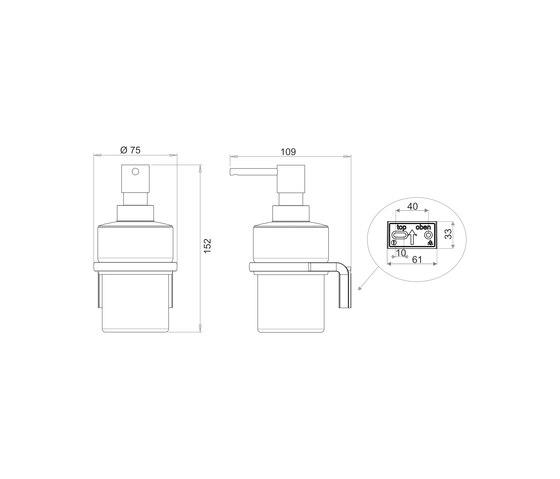 Chic 14 Soap dispenser by Bodenschatz | Soap dispensers