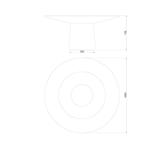 Roundel | Dining table by Baleri Italia | Dining tables