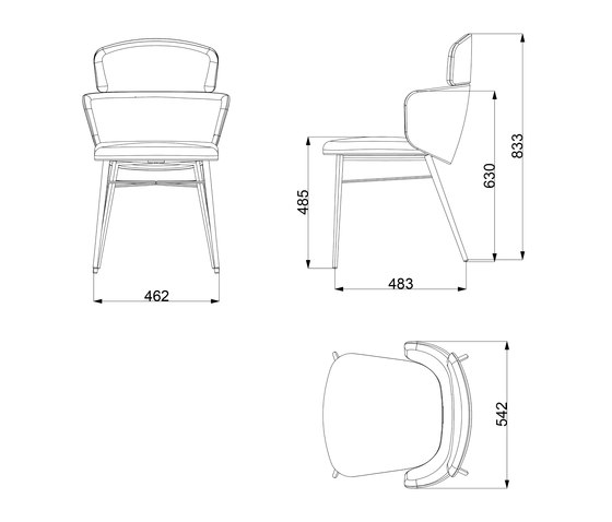 Kin | Chair by Baleri Italia | Chairs