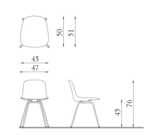I.S.I.   Chair by Baleri Italia   Chairs