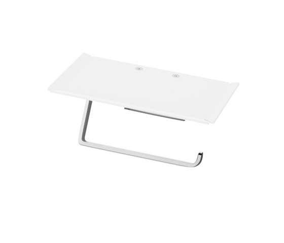 Chic 14 Toilet paper holder with tray by Bodenschatz | Paper roll holders