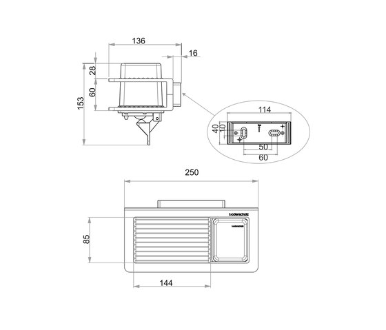 Creativa Soap dispenser, Savonnette and metal dish by Bodenschatz | Soap dispensers