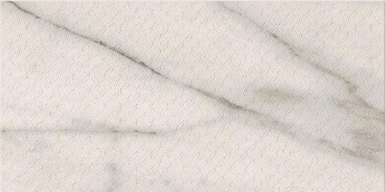 Motif Extra | Calacatta Silver Rett Emb von Marca Corona | Keramik Fliesen