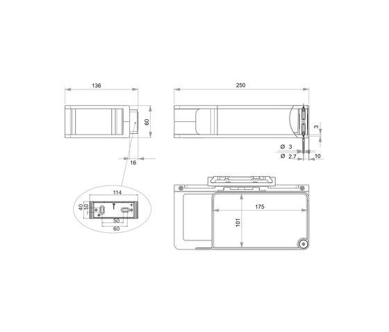 Creativa Scatola portaoggetti / salviette umide di Bodenschatz | Mensole / supporti mensole