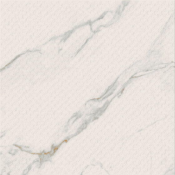Motif Extra | Calacatta Gold Trama 60 Rett. de Marca Corona | Carrelage céramique