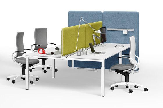 Winea Sonic | On-desk panel by WINI Büromöbel | Table dividers