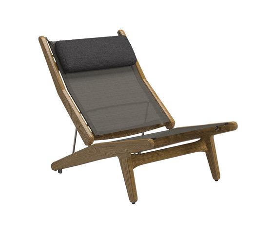 Bay Reclining Chair von Gloster Furniture GmbH | Sessel