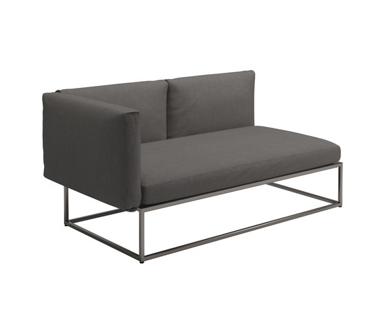 Cloud Left End Unit 75x150cm von Gloster Furniture GmbH | Sofas
