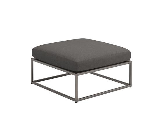 Cloud Ottoman 75x75cm by Gloster Furniture GmbH | Poufs