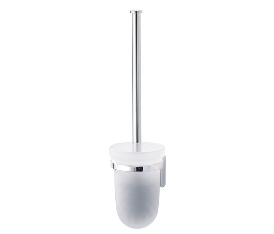 Lindo Toilet brush set without closing lid by Bodenschatz | Toilet brush holders