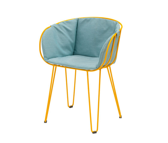 Olivo Armchair upholstered de iSimar | Sillas