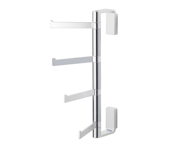 Lindo Clothes hanging rack with four flexible arms by Bodenschatz | Towel rails