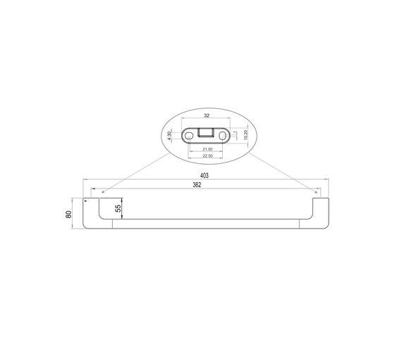 Liv Towel ring by Bodenschatz   Towel rails
