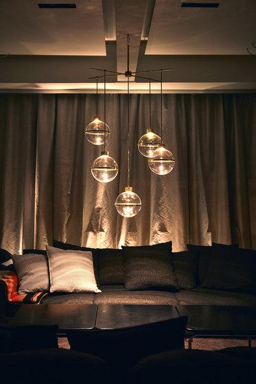 Bare Quintet de Saas Instruments | Lámparas de suspensión
