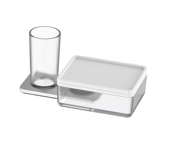 Liv Portabicchieri con box per salviette umide di Bodenschatz | Portasalviette