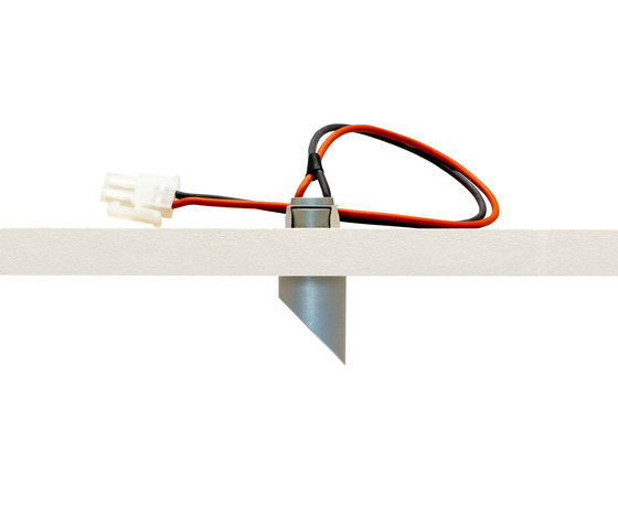 highline diagonal 2,7K AL by Saas Instruments | Recessed ceiling lights