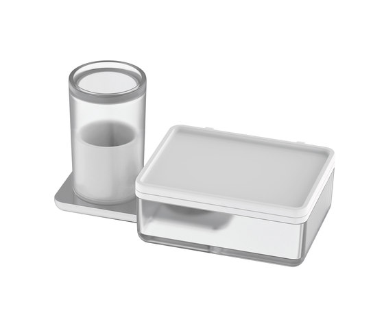 Liv Hygiene/utensils box + wet wipes box by Bodenschatz | Paper towel dispensers