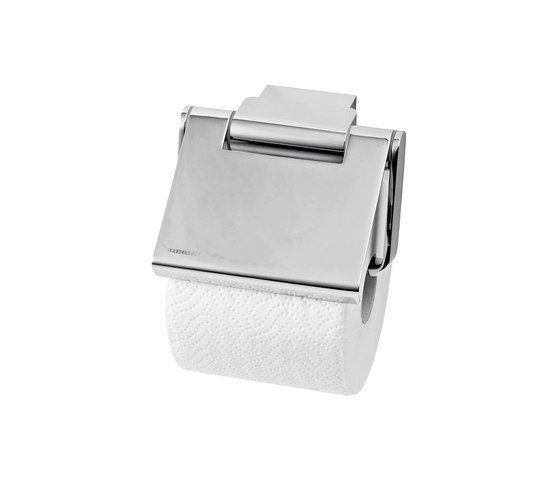 Nandro Toilet paper holder with lid by Bodenschatz | Paper roll holders