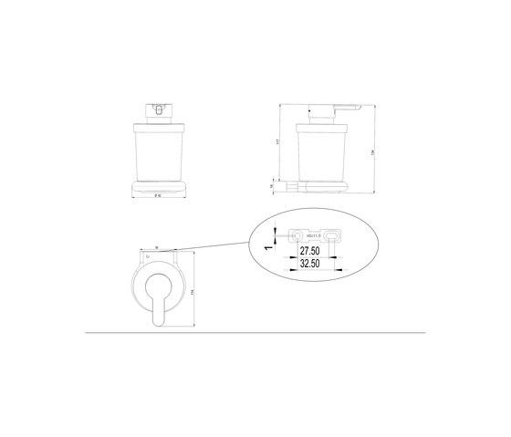Nia Soap dispenser by Bodenschatz | Soap dispensers