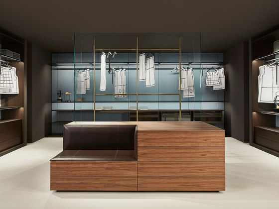 Hub by PORRO | Walk-in wardrobes