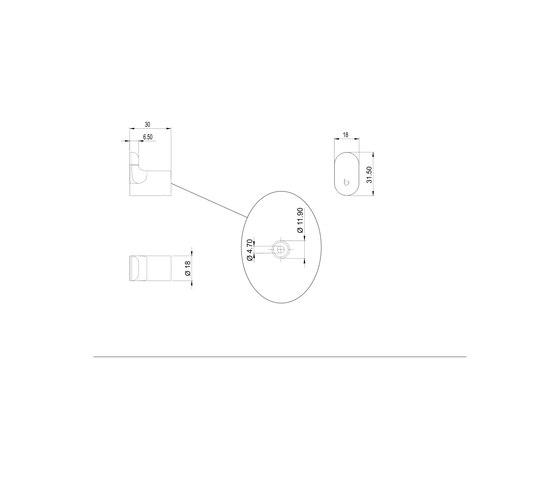 Nia Hook by Bodenschatz | Towel rails