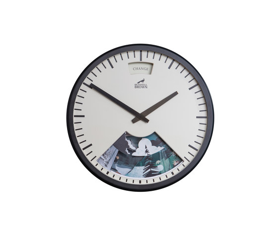 Limited Edition Into The Wild Weather Clock by Bramwell Brown Clocks | Clocks