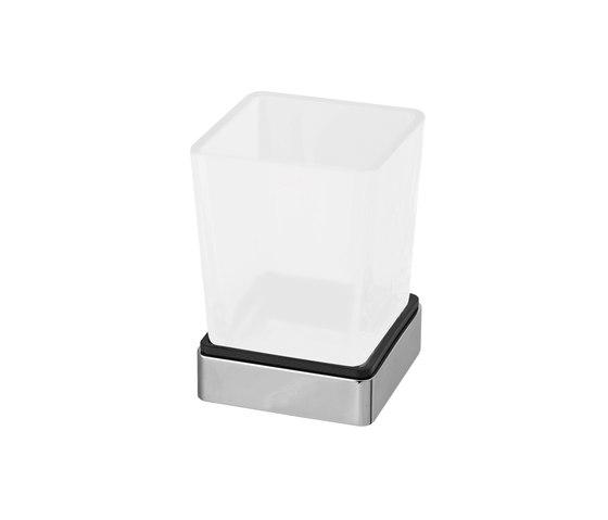 Simara Glass holder, stand model by Bodenschatz | Toothbrush holders