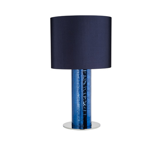Alfier Blue by Cameron Peters Fine Lighting | Table lights