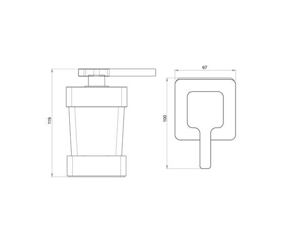 Simara Distributore di sapone di Bodenschatz | Portasapone liquido