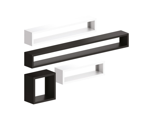 Irony Wall Rack by ZEUS | Shelving