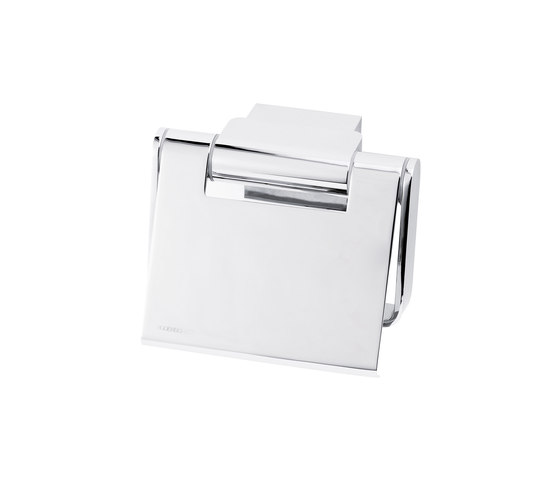 Simara Toilet paper holder with lid by Bodenschatz | Paper roll holders
