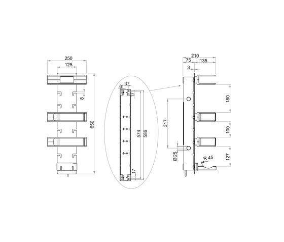 Creativa Electrical module, de luxe by Bodenschatz   Special functions