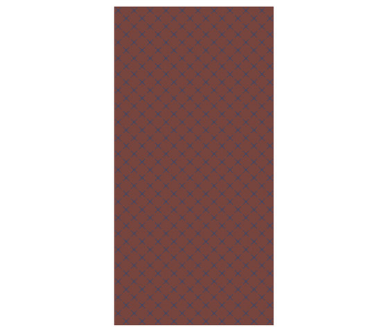 Squares Reddy Brown   OP120240SQR von Ornamenta   Keramik Fliesen