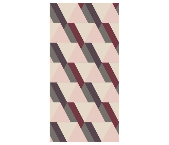Ultrapatterns Triangle Blush | OP120240UPTB by Ornamenta | Ceramic tiles