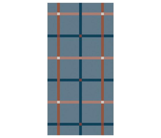 Rugs Plaid Inked | OP120240RUPI by Ornamenta | Ceramic tiles