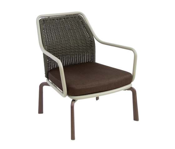 Cross Lounge Chair by emuamericas | Armchairs