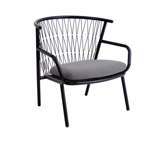 Nef Low Back Lounge Chair by emuamericas | Garden armchairs